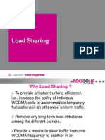 Traffic Load Sharing in WCDMA