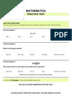 Yr 8 Maths Practice