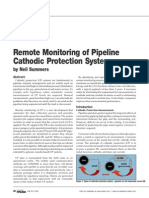 Remote Monitoring-Cathodic Protection-Specification 2