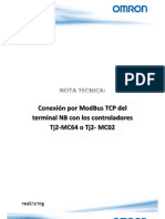 Nota Tecnica Conexión ModBus TCP de NB con Tj2-MCxx v1_0