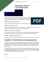 Visual Foxpro Manual Del Program Ad Or Completo
