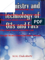 Chemistry and Technology of Oils and Fats