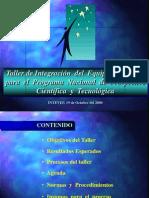 Integracin Del Equipo
