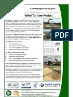 Dykehead WTG Case Study - www.g2energy.co.uk - G2 Energy