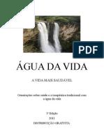 URINA - Agua Da Vida 3a Edicao A5 1a Pagina