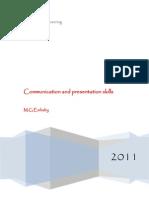 Communication and presentation skills