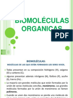 BIOMOLÉCULAS INTRODUCCION