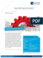 Datenblatt DGQ - Qualitätsassistent Technik