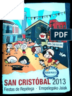 Programa fiestas Repélega 2013 - San Cristóbal