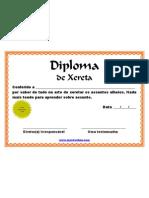Diploma de Xereta