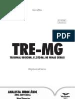 Regimento Interno Tre-mg