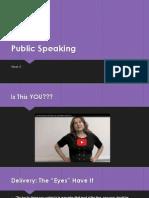 Public SpeakingWK52013