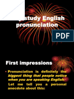 Why Study English Pronunciation