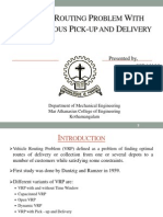 Review on Vehicle Routing Problem