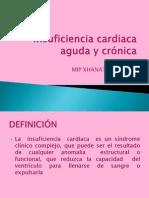 Insuficiencia Cardiaca Aguda y Cronica