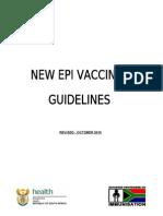 EPI Vaccines Revised Oct 2010