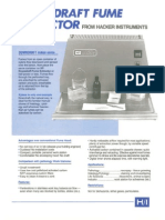 H/I Downdraft Fume Extractor Brochure -1