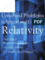 Unsolved Problems in Special and General Relativity