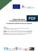 Inquadramento giuridico dell'opendata - Aliprandi e Piana (2013)