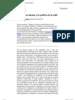 En Trasversales_ Cuerpos en alianza y la política de la calle (Judith Butler)
