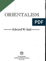 Orientalism by Edward Said