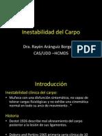 Inestabilidad Del Carpo Final