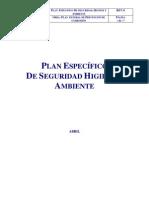 Plan Especifico de Seguridad Previo