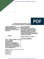 4th AMENDED Civil Complaint- Panagacos v. John J Towery, Thomas R Rudd, Olympia Police Department, Tacoma Police Department, Chris Adamson
