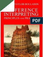 Conference Interpreting - Taylor-Bouladon, Valerie