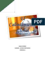 CALENTAMIENTO GLOBAL guanareç