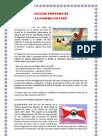 PROCESO HISTÓRICO DE BANDERA