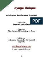 Un Voyage Unique Article paru dans la revue AlJumuah
