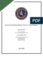 Conviction Integrity Review - People v. Jesse Friedman - FINAL
