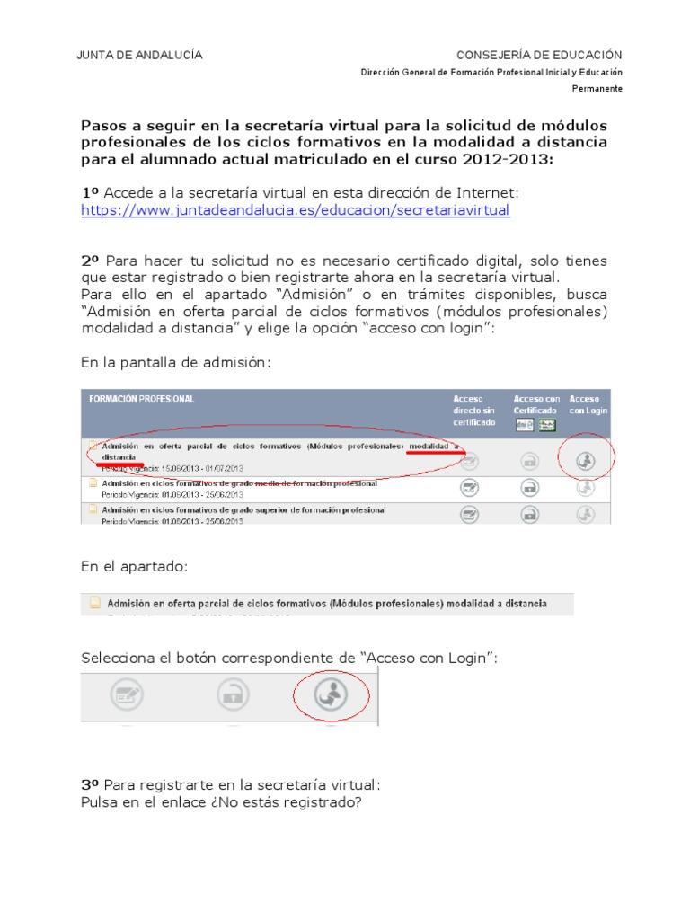 Pasos Solicitud Sv Alum Act Aprendizaje Permanente