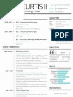 Glenn Curtis II's Resume