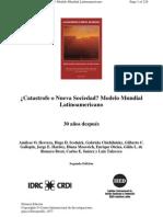 Herrera a Catastrofe o Nueva Sociedad Modelo Mundial Latinoamericano