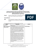 DISI Meeting April 25, 2013 Minutes