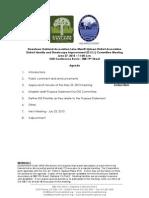 DISI Meeting June 27, 2013 Agenda Packet