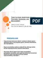 Toxic Alcohol Ingestions