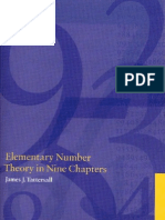 Tattersall - Elementary Number Theory in Nine Chapters