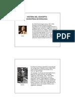Historia de Ecositema