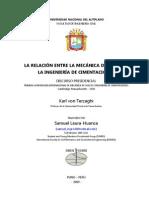 Relación entre Mecánica de Suelos e Ingeniería de Cimentaciones - Samuel LH