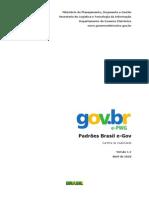 Padrões Brasil e-Gov - Cartilha de Usabilidade