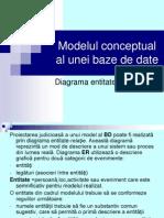 Curs - Model conceptual al bazelor de date