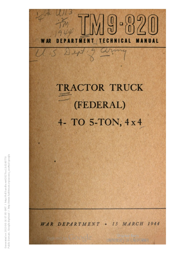 1511811838?v=1 tm 9 820 truck tractor federal 4 to 5 ton clutch throttle  at alyssarenee.co