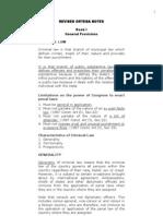 Criminal Law 1 Reviewer- Ortega