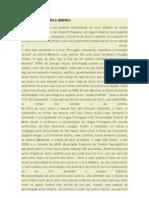 Análise crítica de livro didático