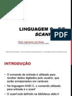 Introdução a Linguagem C - Scanf