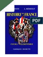 Histoire de France CE1-CE2 Bonifacio Mérieult Classiques Hachette