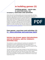 Free Team Building Games(NEW2)